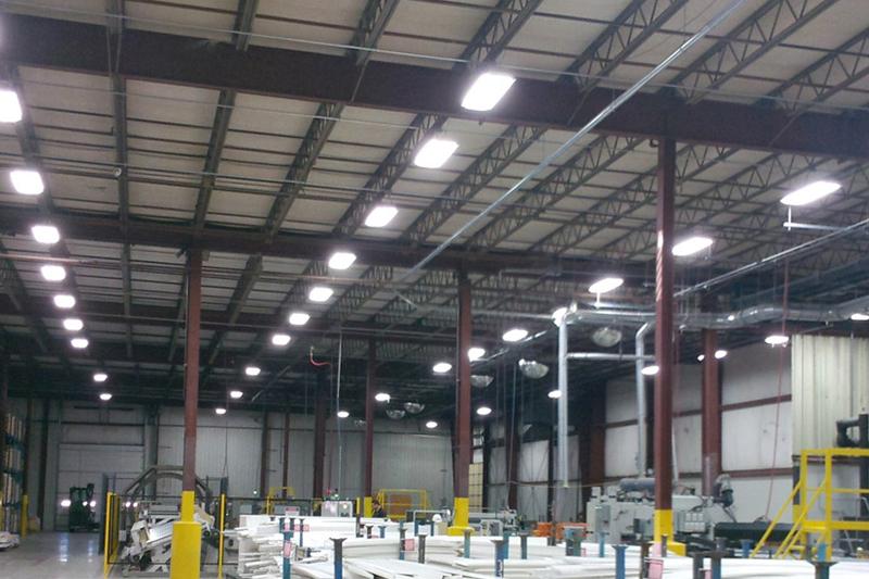 Highbay fixture warehouse